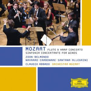 Mozart -  Sinfonia Concertante For Winds, Flute & Harp Concerto, Wolfgang Amadeus Mozart