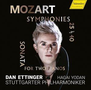 Mozart:Sinfonien 25 & 40, Dan Ettinger, Stuttgarter Philharmoniker
