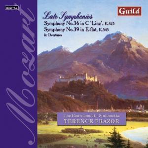 Mozart Sinfonien 36+39, Terence Frazor, Bournemouth Sinfonietta