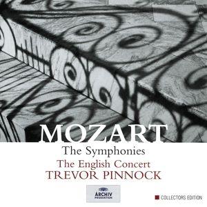 Mozart: Symphonies K. 182, K. 183, K. 202, K. 297, Trevor Pinnock, Ec