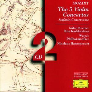 Mozart: The 5 Violin Concertos, Sinfonia Concertante, Gidon Kremer, Nikolaus Harnoncourt, Wp