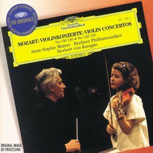 Mozart: Violin Concerto Nos.3 K.216 & 5 K.219, Anne-Sophie Mutter, Herbert von Karajan, Bp