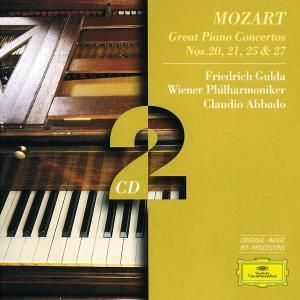 Mozart, W.A.: Piano Concertos Nos.20 & 21, Friedrich Gulda, Claudio Abbado, Wp