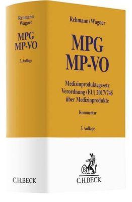 MPG MP-VO, Kommentar, Wolfgang A. Rehmann, Susanne A. Wagner