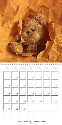 Mr. Bud, the cute bear (Wall Calendar 2019 300 × 300 mm Square) - Produktdetailbild 7