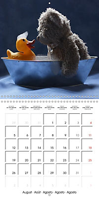 Mr. Bud, the cute bear (Wall Calendar 2019 300 × 300 mm Square) - Produktdetailbild 8