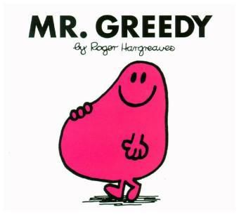 Mr. Greedy, Roger Hargreaves