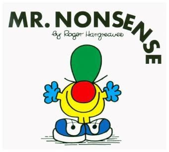 Mr. Nonsense, Roger Hargreaves