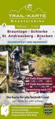 MTB Trail-Karte Braunlage - Schierke - St. Andreasberg - Brocken - Maximilian Schmidt |