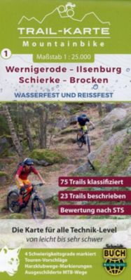MTB Trail-Karte Wernigerode - Ilsenburg - Schierke - Brocken - Maximilian Schmidt |
