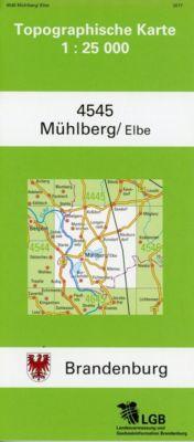 Mühlberg/ Elbe 1 : 25 000