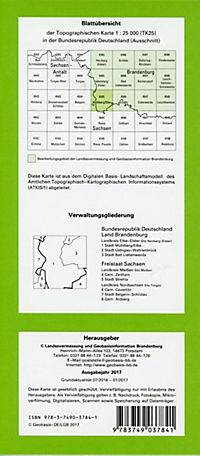 Mühlberg/ Elbe 1 : 25 000 - Produktdetailbild 1