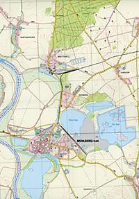 Mühlberg/ Elbe 1 : 25 000 - Produktdetailbild 2