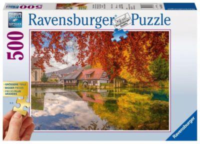 Mühle am Blautopf (Puzzle)