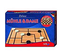 Mühle & Dame, Deluxe (Spiel) - Produktdetailbild 2