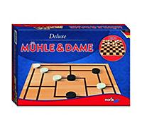 Mühle & Dame, Deluxe (Spiel) - Produktdetailbild 3