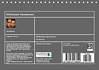 Mühlhausen Impressionen (Tischkalender 2019 DIN A5 quer) - Produktdetailbild 13