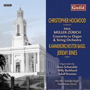 Müller Zürich Orgelkonzert, Bines, Hogwood, Kammerorchester Basel