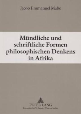 Mündliche und schriftliche Formen philosophischen Denkens in Afrika, Jacob Emmanuel Mabe