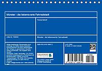 Münster - die liebenswerte Fahrradstadt (Tischkalender 2019 DIN A5 quer) - Produktdetailbild 13