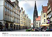 Münster - die liebenswerte Fahrradstadt (Wandkalender 2019 DIN A3 quer) - Produktdetailbild 1