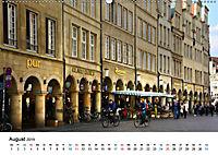 Münster - die liebenswerte Fahrradstadt (Wandkalender 2019 DIN A2 quer) - Produktdetailbild 8