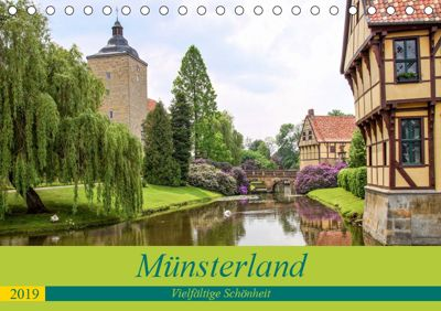 Münsterland - Vielfältige Schönheit (Tischkalender 2019 DIN A5 quer), Thomas Becker