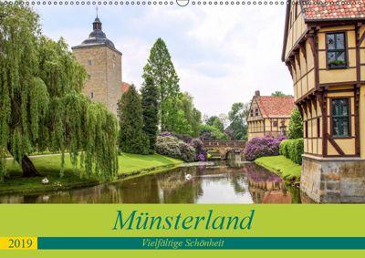 Münsterland - Vielfältige Schönheit (Wandkalender 2019 DIN A2 quer), Thomas Becker
