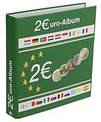 2 Euromünzen Sammelalbum Topset Für Alle 2 Euro Münzen In Kapseln