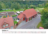 Münzstadt Gadebusch - Luftaufnahmen von Markus Rein (Wandkalender 2019 DIN A2 quer) - Produktdetailbild 10