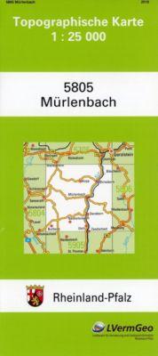 Mürlenbach 1 : 25 000