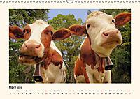 Muh, Mäh, Miau & Co (Wandkalender 2019 DIN A3 quer) - Produktdetailbild 3