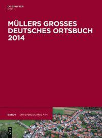 Mullers Groes Deutsches Ortsbuch 2014