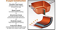 Multifunktionspfanne, kupfer - Produktdetailbild 1