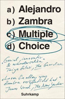 Multiple Choice, Alejandro Zambra