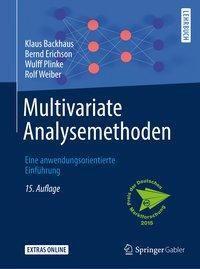 Multivariate Analysemethoden, Klaus Backhaus, Bernd Erichson, Wulff Plinke