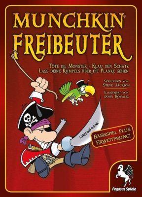 Munchkin Freibeuter (Kartenspiel); Munchkin Freibeuter 2, Haisprung (Spiel-Zubehör), Steve Jackson