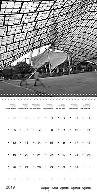 Munich in Motion (Wall Calendar 2019 300 × 300 mm Square) - Produktdetailbild 8
