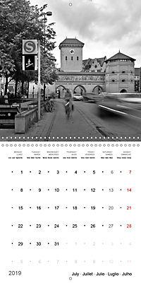 Munich in Motion (Wall Calendar 2019 300 × 300 mm Square) - Produktdetailbild 7