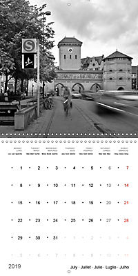Munich in Motion (Wall Calendar 2019 300 × 300 mm Square) - Produktdetailbild 7