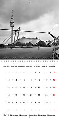 Munich in Motion (Wall Calendar 2019 300 × 300 mm Square) - Produktdetailbild 11