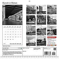 Munich in Motion (Wall Calendar 2019 300 × 300 mm Square) - Produktdetailbild 13