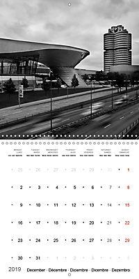 Munich in Motion (Wall Calendar 2019 300 × 300 mm Square) - Produktdetailbild 12
