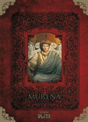 Murena - Skizzenbuch, Jean Dufaux, Philippe Delaby