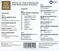 Music At The Habsburg And Mannheim Courts - Produktdetailbild 1