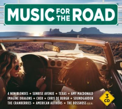 Music For The Road (Exklusive 3CD-Box), Various Artists