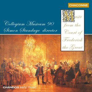 Music from the Court of Frederick The Great, Simon Standage, Cm90