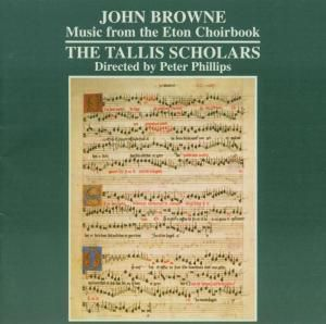 Music From The Eton Choirbook, The Tallis Scholars, Peter Phillips