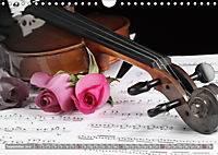 Music Magic of musical instruments (Wall Calendar 2019 DIN A4 Landscape) - Produktdetailbild 9