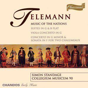 Music Of The Nations, Lawson, Standage, Collegium Musicum 90